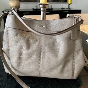 Genuine Coach Small Lexy leather shoulder bag.